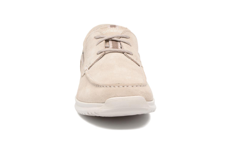 Chaussures à lacets Rockport Langdon 3 Eye Ox Beige vue portées chaussures