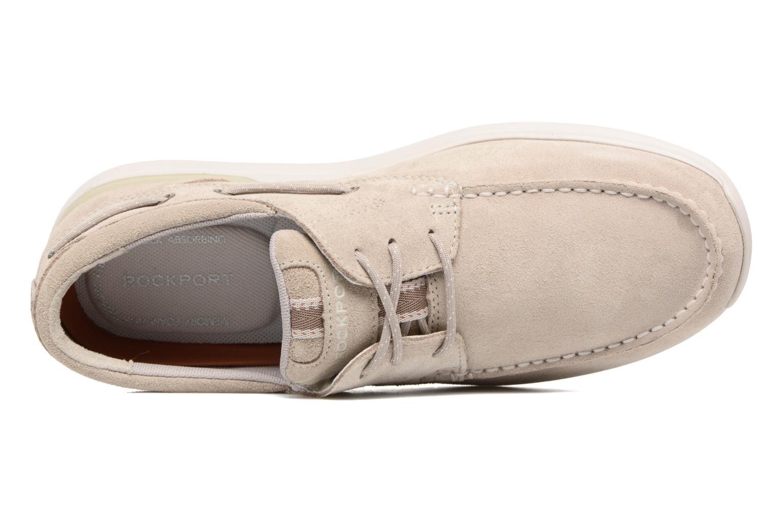 Chaussures à lacets Rockport Langdon 3 Eye Ox Beige vue gauche