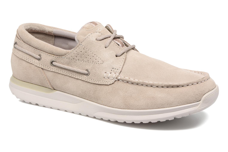 Chaussures à lacets Rockport Langdon 3 Eye Ox Beige vue détail/paire