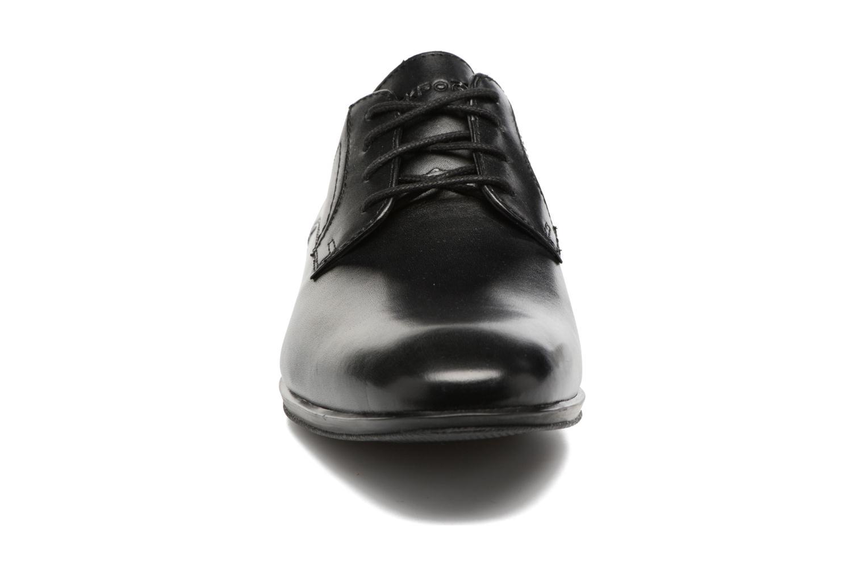 Chaussures à lacets Rockport Sc Plain Toe Noir vue portées chaussures