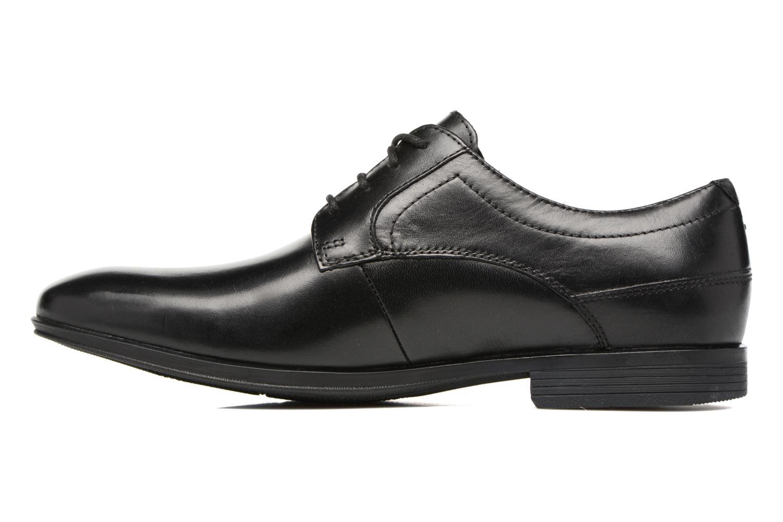 Chaussures à lacets Rockport Sc Plain Toe Noir vue face