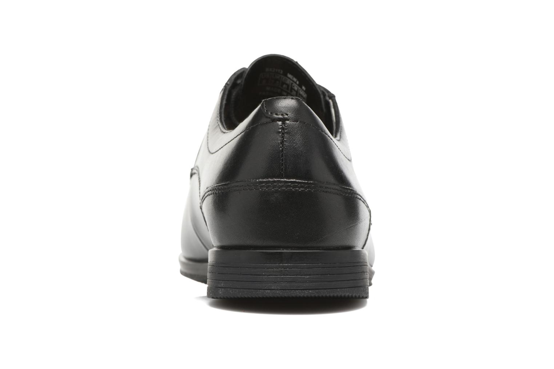 Chaussures à lacets Rockport Sc Plain Toe Noir vue droite