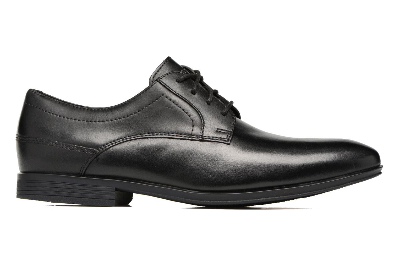 Chaussures à lacets Rockport Sc Plain Toe Noir vue derrière