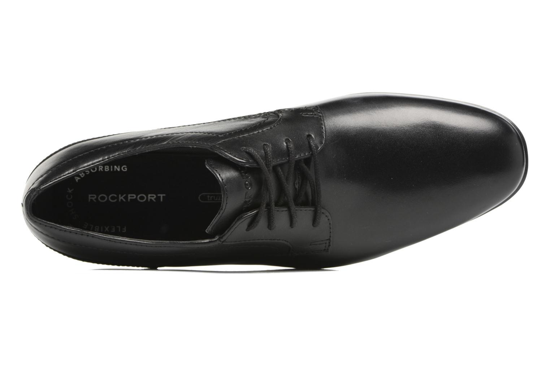 Chaussures à lacets Rockport Sc Plain Toe Noir vue gauche