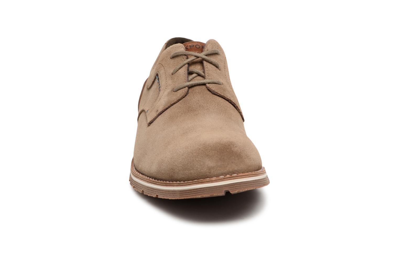 Chaussures à lacets Rockport Statford Plain Toe Marron vue portées chaussures