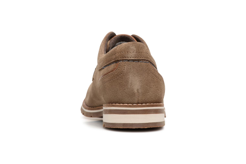 Chaussures à lacets Rockport Statford Plain Toe Marron vue droite