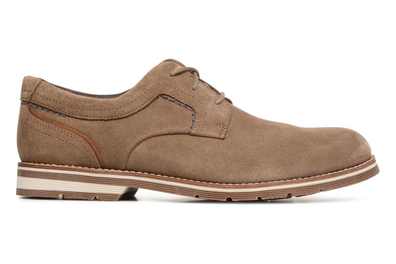 Chaussures à lacets Rockport Statford Plain Toe Marron vue derrière