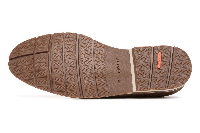 Chaussures à lacets Rockport Statford Plain Toe Marron vue haut