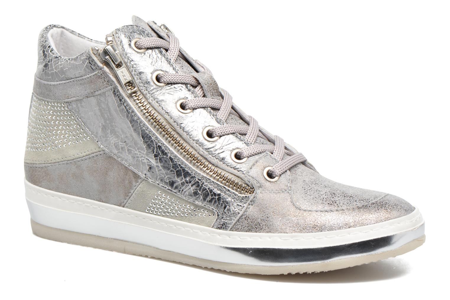 Sneakers Khrio Canella Zilver detail