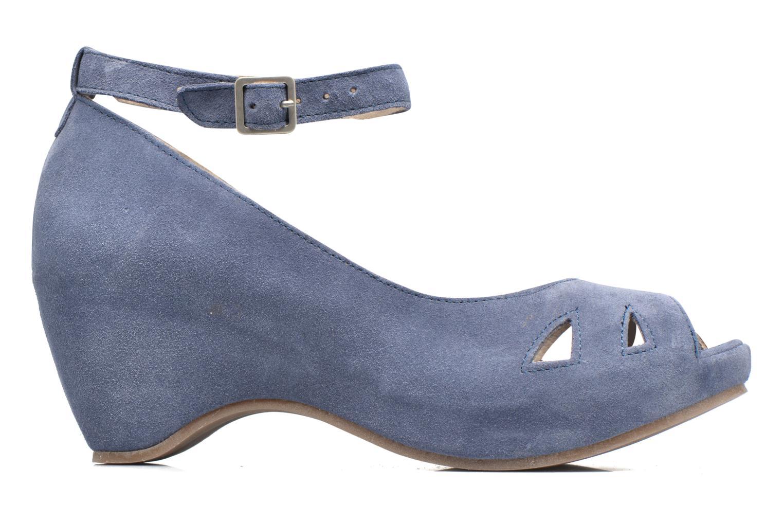 Sandales et nu-pieds Khrio Cylia Bleu vue derrière