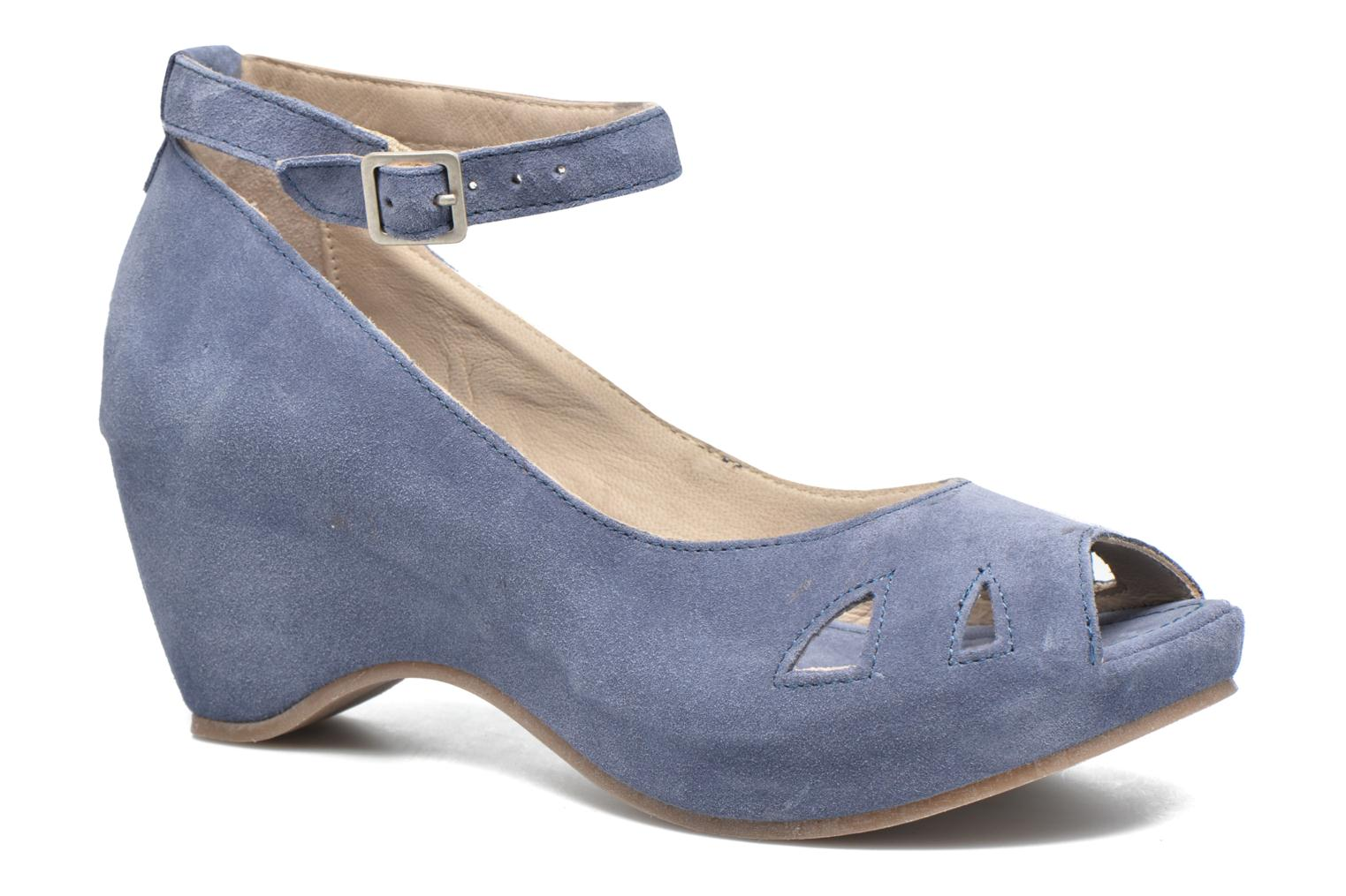 Sandals Khrio Cylia Blue detailed view/ Pair view