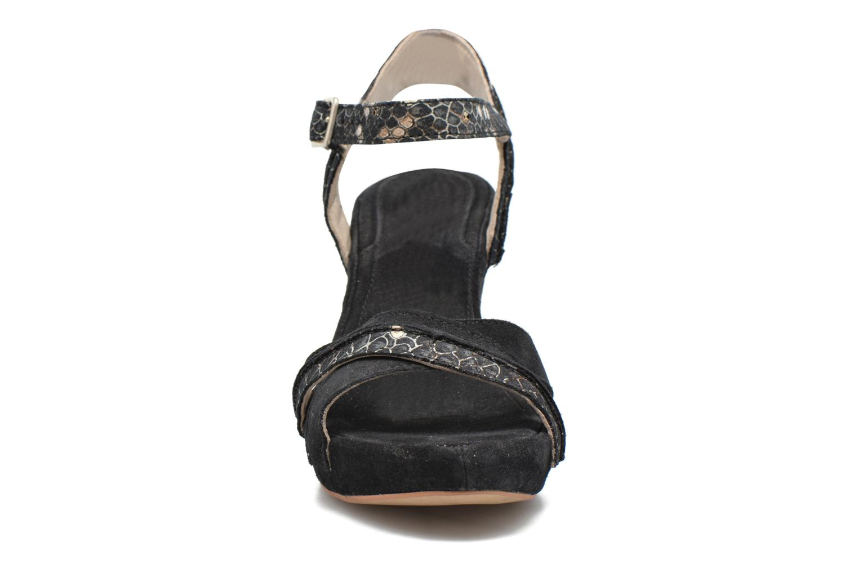 Sandales et nu-pieds Khrio Chrisly Noir vue portées chaussures