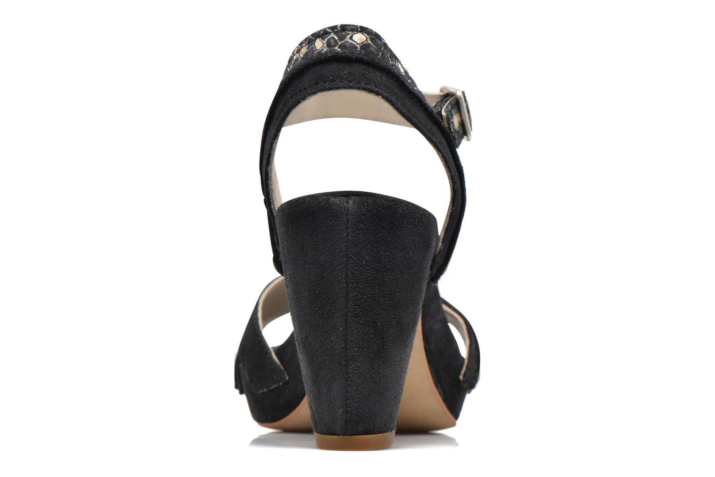Sandales et nu-pieds Khrio Chrisly Noir vue droite