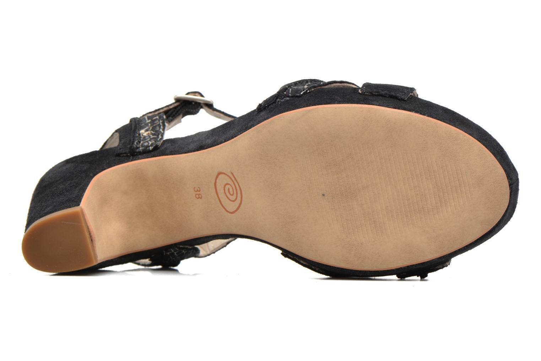 Sandales et nu-pieds Khrio Chrisly Noir vue haut