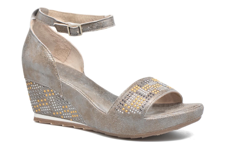 Sandales et nu-pieds Khrio Maika Gris vue détail/paire