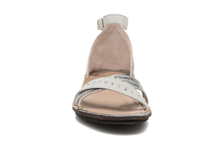 Sandales et nu-pieds Khrio Tiara Argent vue portées chaussures