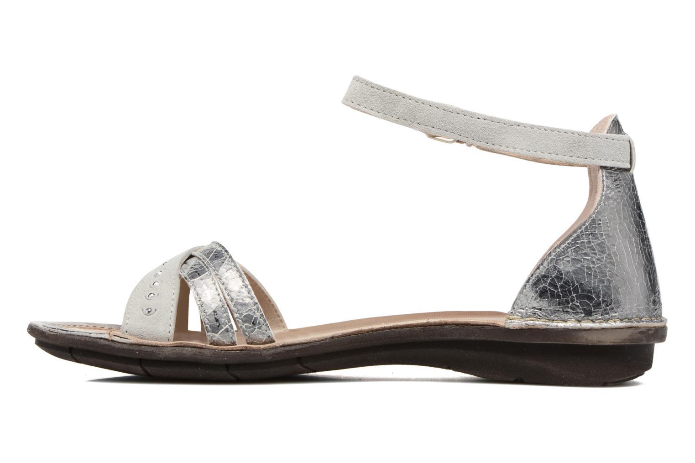 Sandales et nu-pieds Khrio Tiara Argent vue face