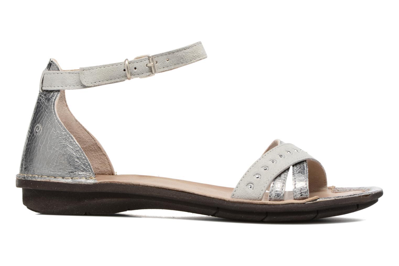 Sandales et nu-pieds Khrio Tiara Argent vue derrière
