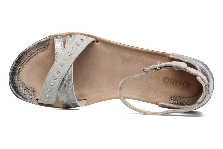 Sandales et nu-pieds Khrio Tiara Argent vue gauche