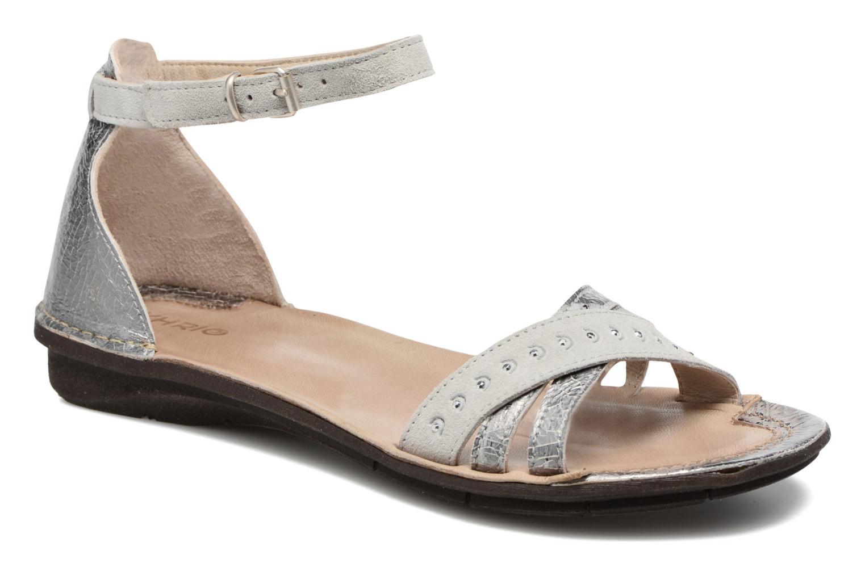 Sandales et nu-pieds Khrio Tiara Argent vue détail/paire