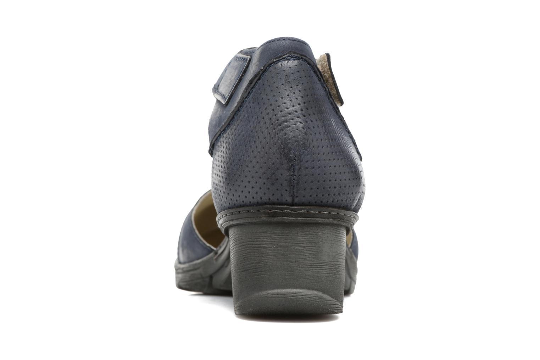 Sandales et nu-pieds Khrio Parissa Bleu vue droite