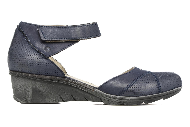 Sandales et nu-pieds Khrio Parissa Bleu vue derrière