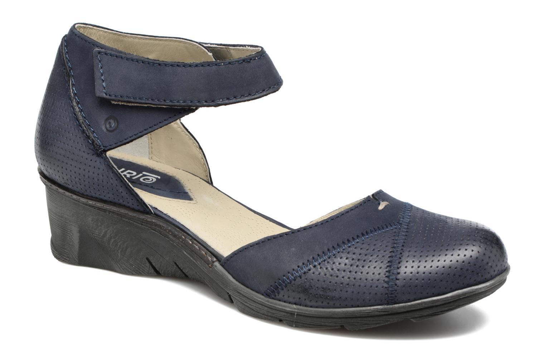 Sandales et nu-pieds Khrio Parissa Bleu vue détail/paire
