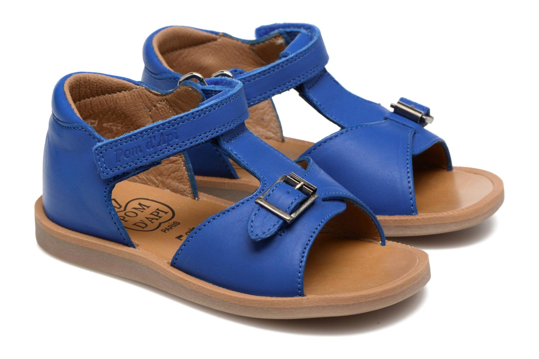 Sandalen Pom d Api Poppy Easy Blauw 3/4'