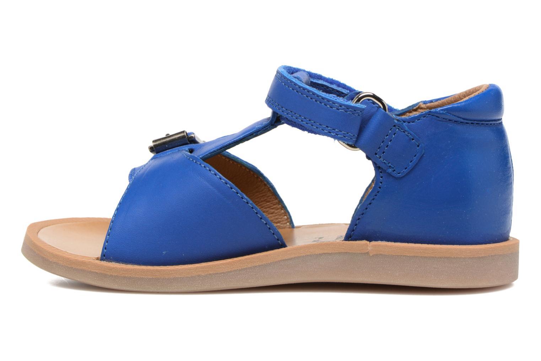 Sandalen Pom d Api Poppy Easy Blauw voorkant