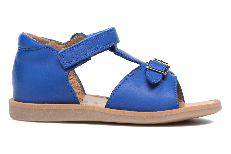 Sandalen Pom d Api Poppy Easy Blauw achterkant