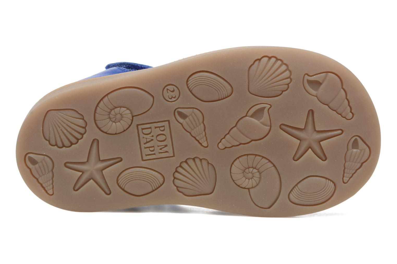 Sandalen Pom d Api Poppy Easy Blauw boven