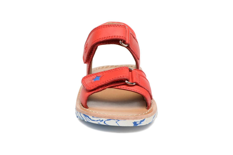 Sandali e scarpe aperte Pom d Api Waff Kastro Rosso modello indossato