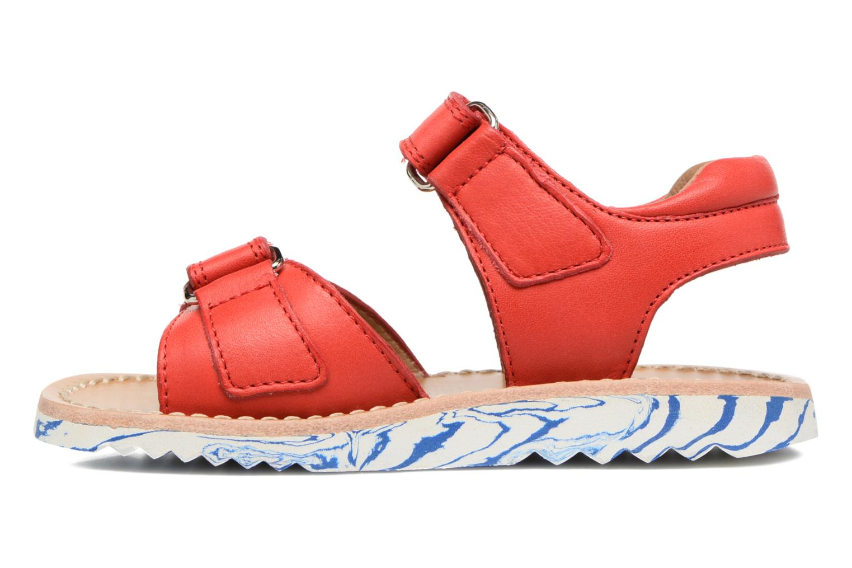 Sandali e scarpe aperte Pom d Api Waff Kastro Rosso immagine frontale