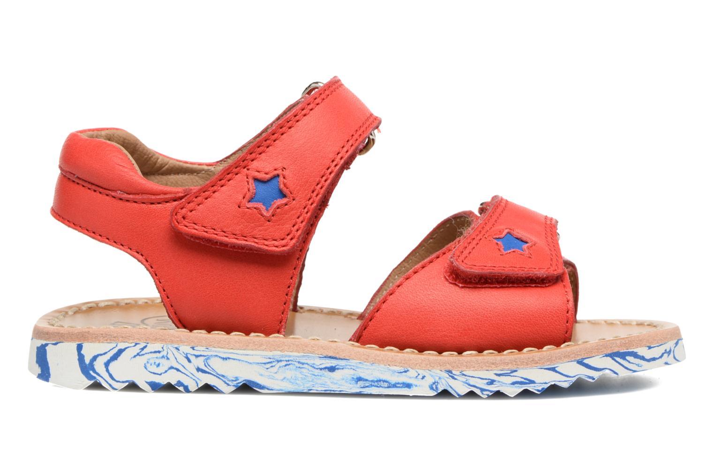 Sandali e scarpe aperte Pom d Api Waff Kastro Rosso immagine posteriore