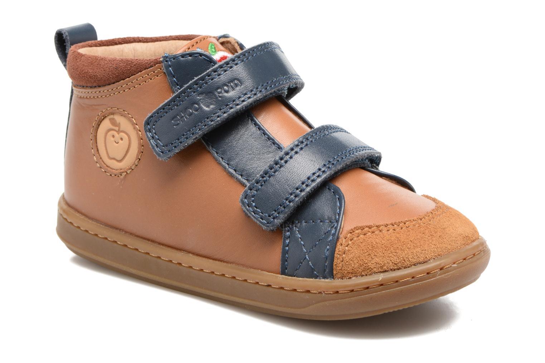 Bottines et boots Shoo Pom Bouba New Scratch Marron vue détail/paire