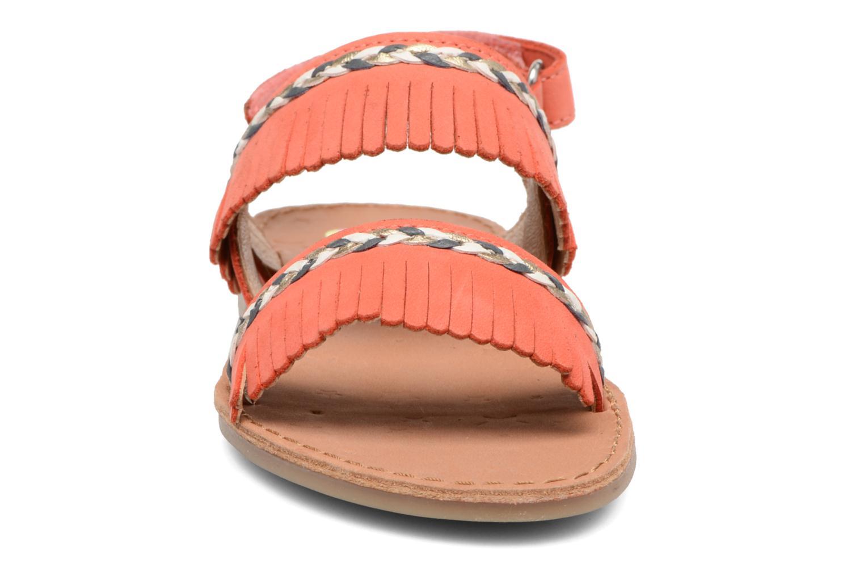 Sandali e scarpe aperte Shoo Pom Happy Inca Arancione modello indossato