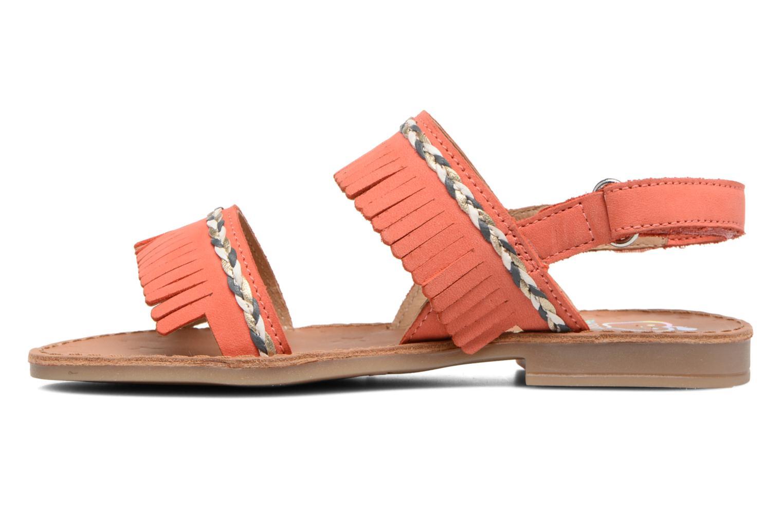 Sandales et nu-pieds Shoo Pom Happy Inca Orange vue face