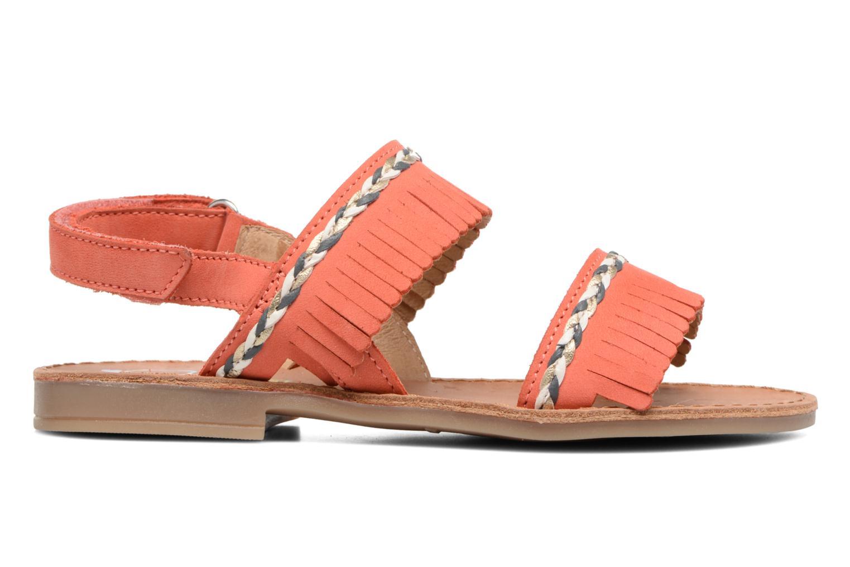 Sandales et nu-pieds Shoo Pom Happy Inca Orange vue derrière