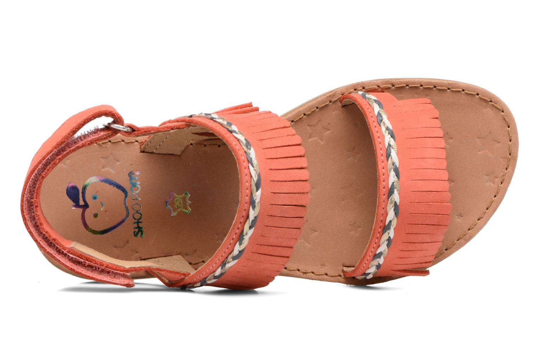 Sandales et nu-pieds Shoo Pom Happy Inca Orange vue gauche