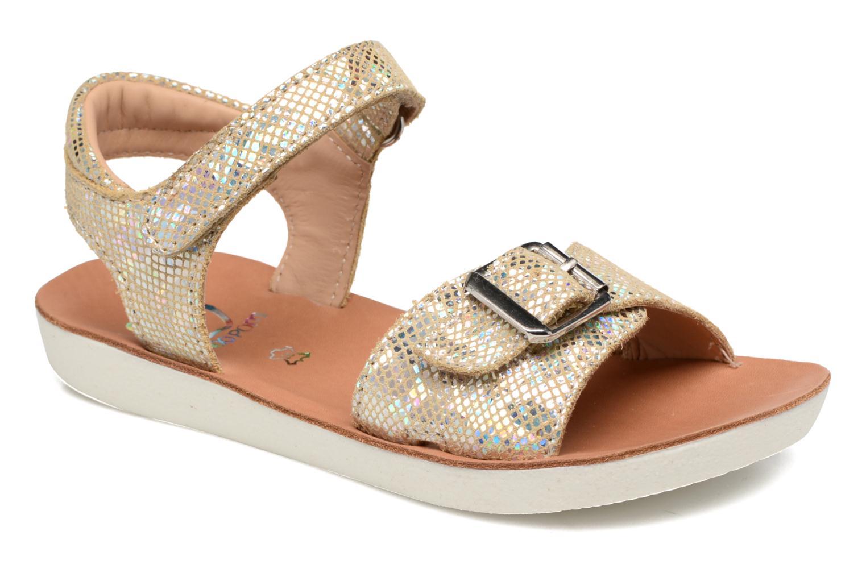 Sandali e scarpe aperte Shoo Pom Goa Sandal Girl Oro e bronzo vedi dettaglio/paio