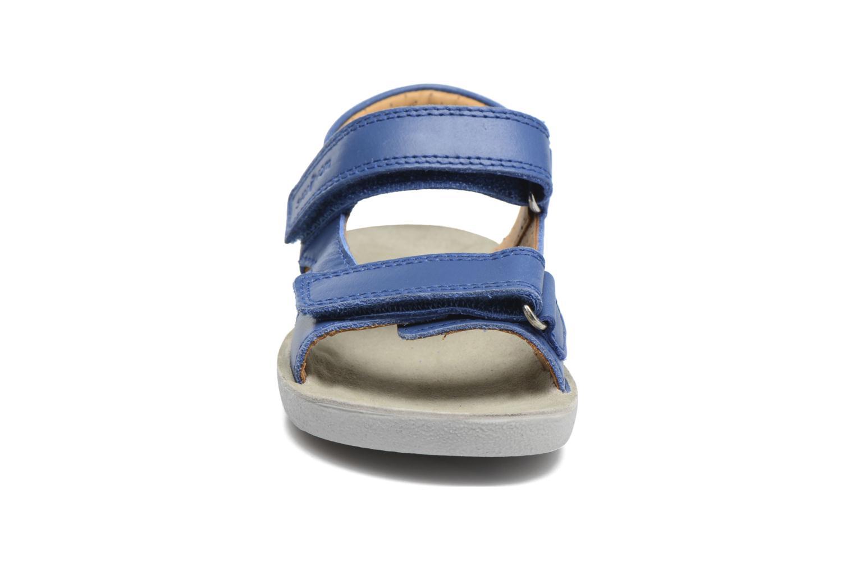Sandales et nu-pieds Shoo Pom Goa Boy Scratch Bleu vue portées chaussures