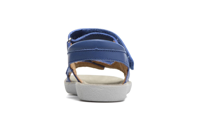 Sandales et nu-pieds Shoo Pom Goa Boy Scratch Bleu vue droite