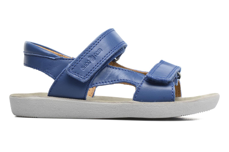 Sandales et nu-pieds Shoo Pom Goa Boy Scratch Bleu vue derrière
