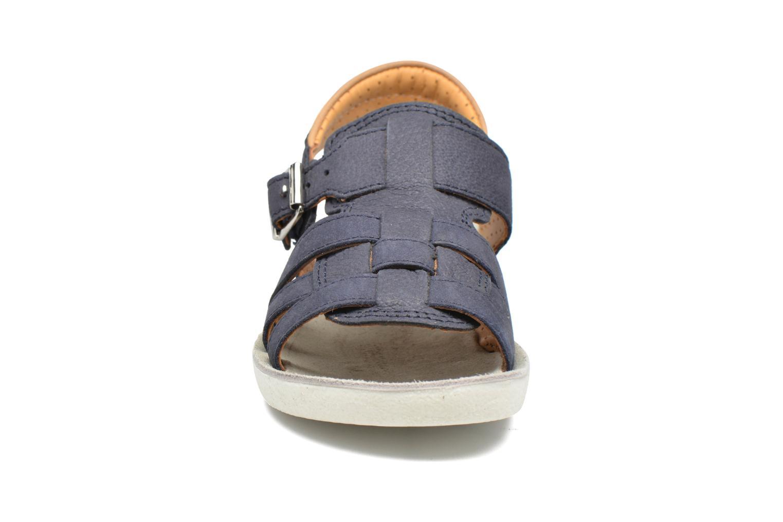 Sandales et nu-pieds Shoo Pom Goa Hector Bleu vue portées chaussures
