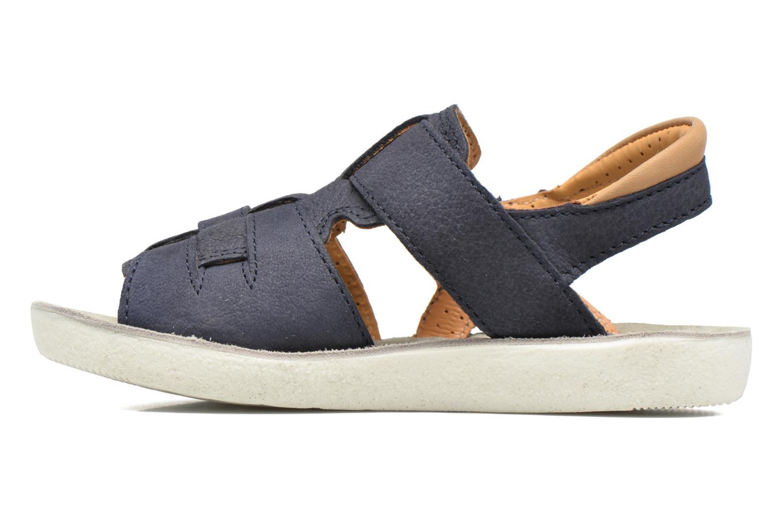 Sandales et nu-pieds Shoo Pom Goa Hector Bleu vue face