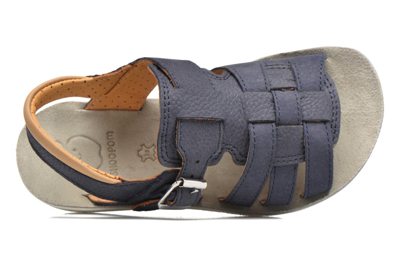 Sandales et nu-pieds Shoo Pom Goa Hector Bleu vue gauche