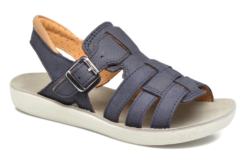 Sandales et nu-pieds Shoo Pom Goa Hector Bleu vue détail/paire