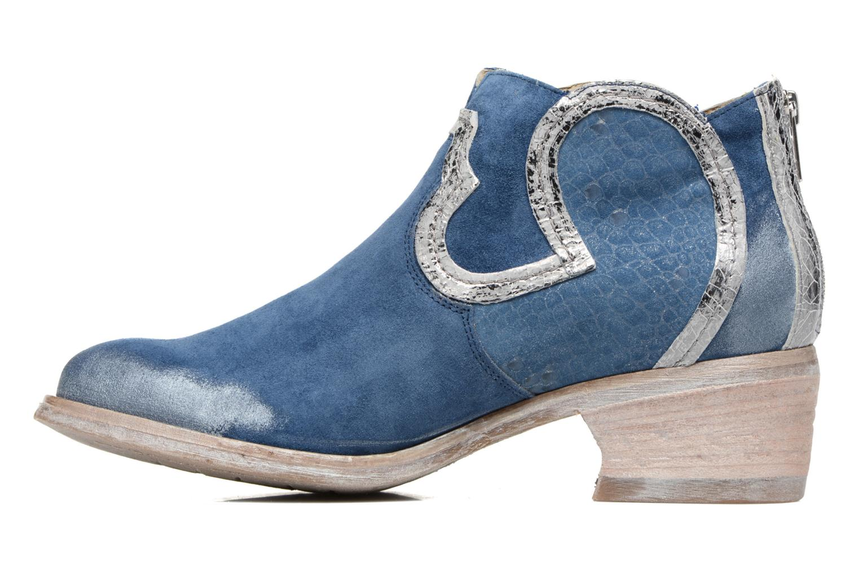 Bottines et boots Khrio Giorgia Bleu vue face