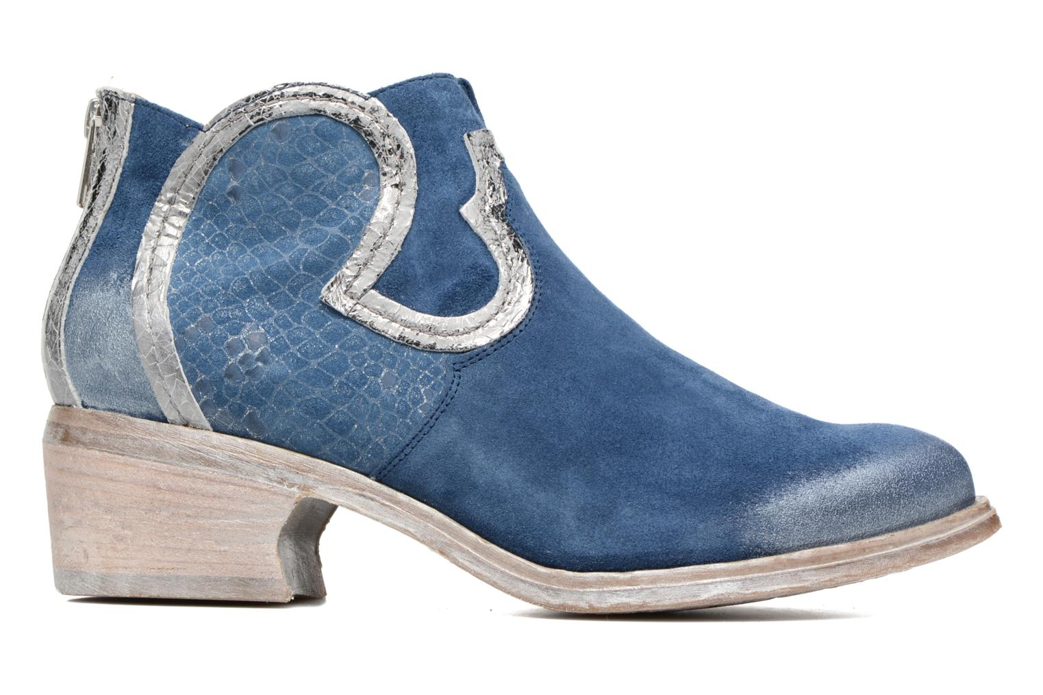 Ankle boots Khrio Giorgia Blue back view