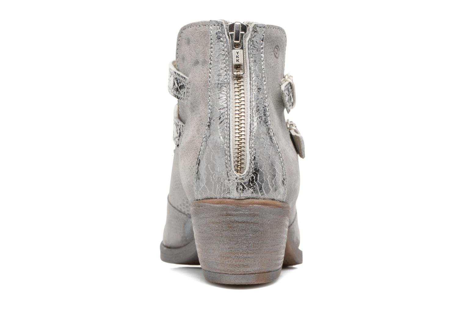 Ankle boots Khrio Gaia Silver view from the right